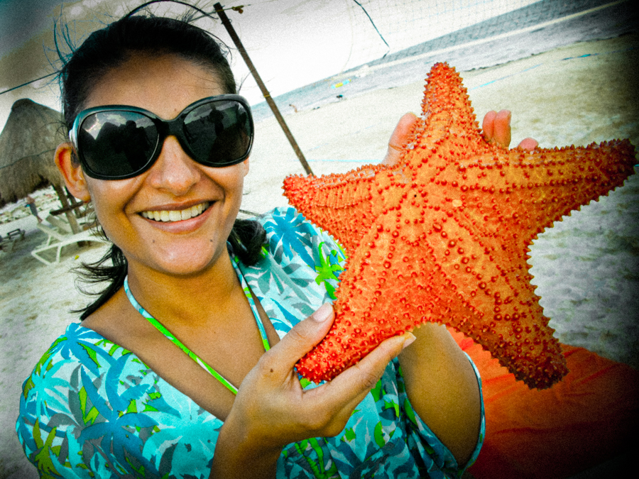 Me With A Starfish