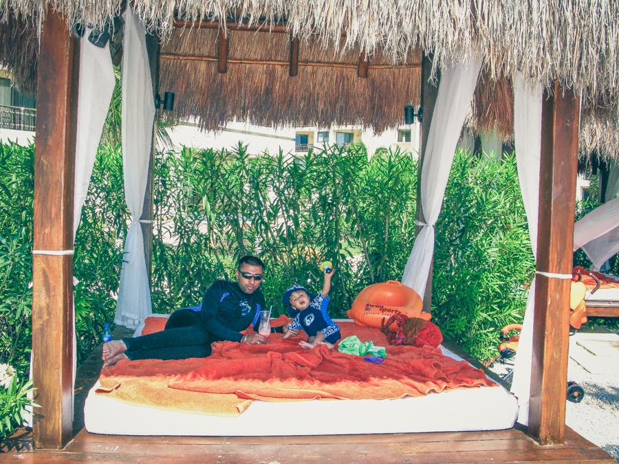 Shivam And Sukh Relax At The Cabana