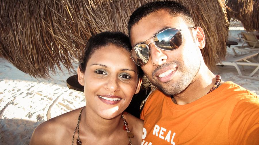 Sukh And I At The Beach